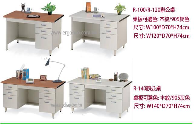 優美桌,R100,電腦桌,辦公桌R120