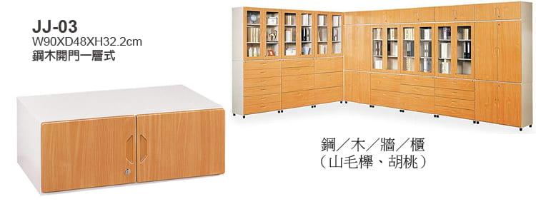 鋼木牆櫃, 鋼木櫃,胡桃木櫃