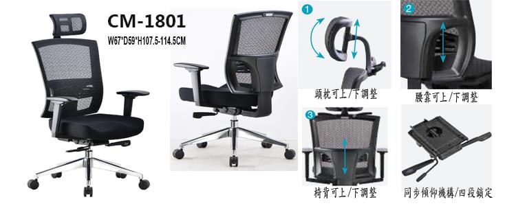 CM-1801主管椅