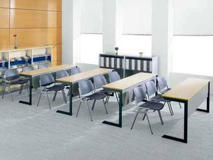 C型折疊桌/折合桌/培訓桌