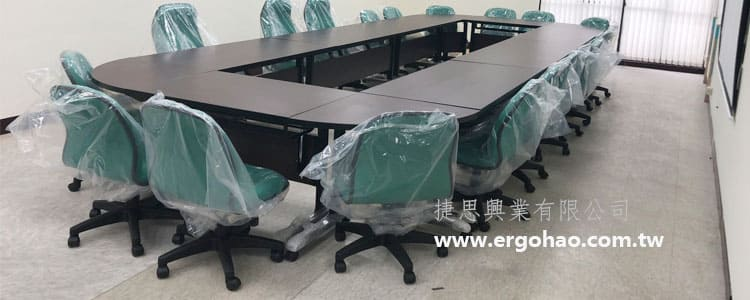 經典折合桌/折疊桌/培訓桌/環狀會議桌