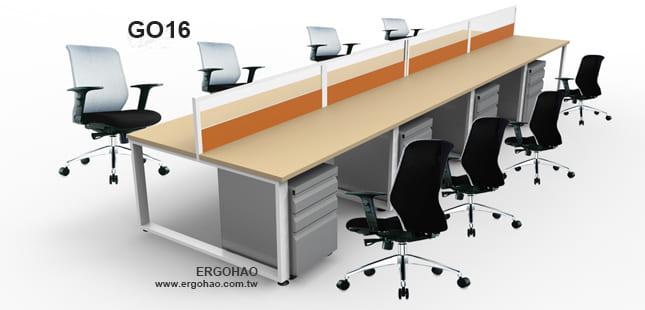屏風辦公桌/OTTO/造型桌/系統工作桌