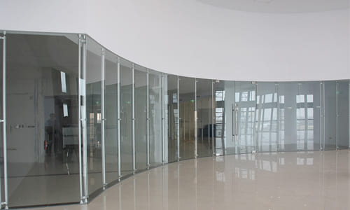 造型玻璃高隔間