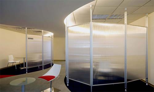玻璃輕隔間/會議室隔間