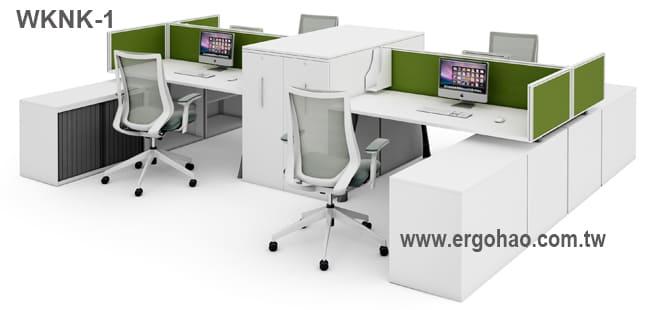 屏風辦公桌/OA桌/系統工作桌