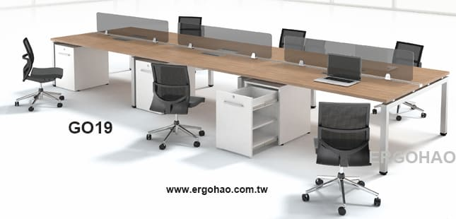 OA辦公桌/GAMMA/系統工作桌/屏風