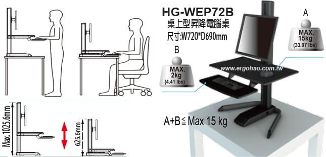 升降桌/桌上型升降桌